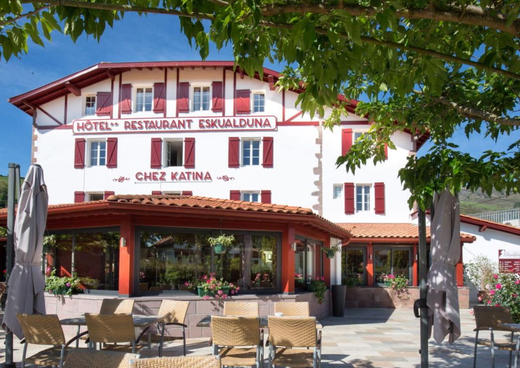 © Hôtel Eskualduna - Chez Katina