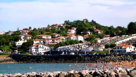 Ciboure plage de Socoa © CDT64-J.Cazenave