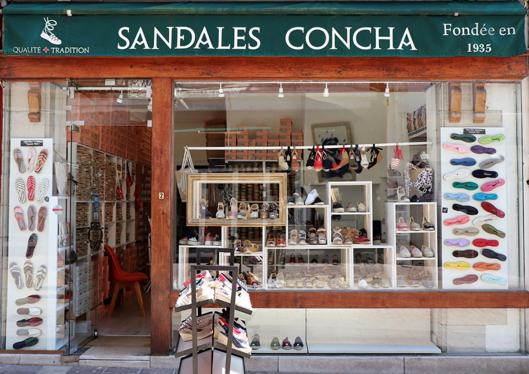sandales-concha-vitrine