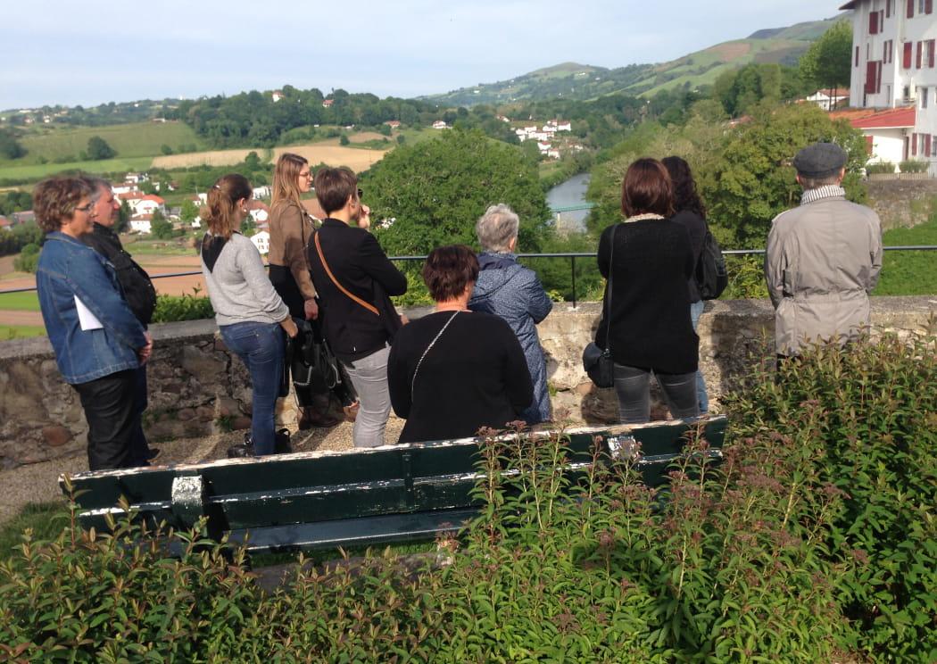 visite guidée de la ville Cambo-les-Bains Pays basque